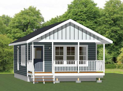 18x30 Tiny House -- 540 sq ft -- PDF Floor Plan - Model 4E