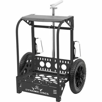 Wingz Disc Golf * FREE SHIP * New Dynamic Zuca Backpack Cart * Matte Black