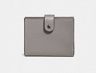 2c1d200ec04f NWT COACH 1941 Small Trifold Wallet Glovetanned Leather Primrose ...
