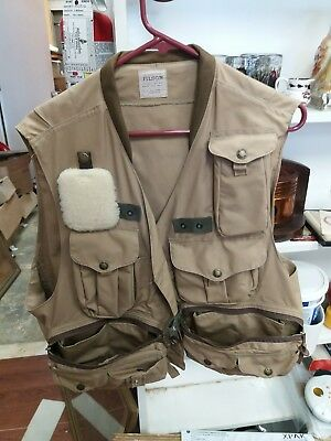 Vintage CC Filson Fishing Vest Made in USA