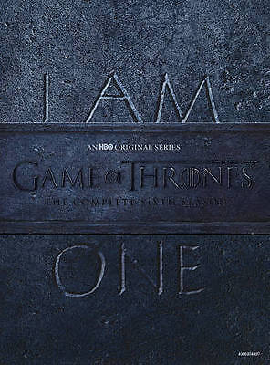 NEW!!! Game of Thrones: The Complete 6th Season (DVD, 2016, 5-Disc Set)