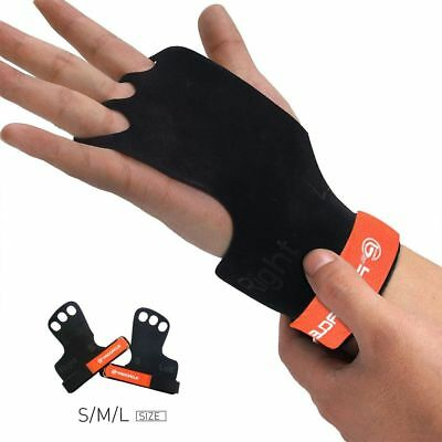 Training Gloves Weight Lifting Workout Crossfit Fit Wrist Fitness Gym Wrap Strap