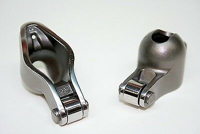 0835005 PRW Sportsman Steel Roller Tip Rockers SB Chevy 350 1.6 x 3/8 Self Align