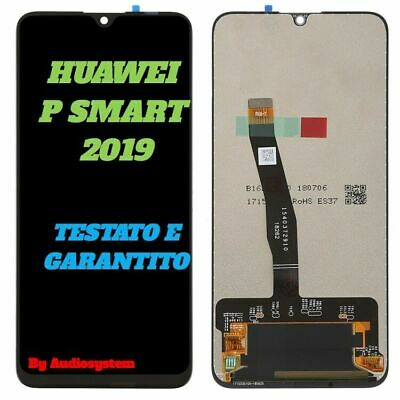DISPLAY +TOUCH SCREEN per HUAWEI P SMART 2019 POT-LX1 POT-LX2 LCD VETRO SCHERMO