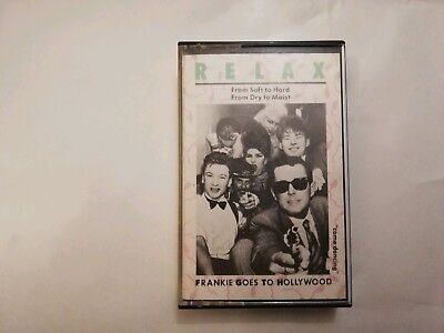 Frankie Goes To Hollywood ‎Relax From Soft To Hard Cassette Tape