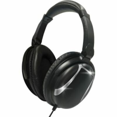 Maxell Bass 13 Headphones - Stereo - Wired - Over-the-head - Circumaural - Black