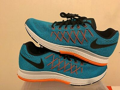 best sneakers 74c13 ffcdd Nike Air Zoom Pegasus 32 Blue Orange Running Shoes 2015 749340-400 Men s Sz