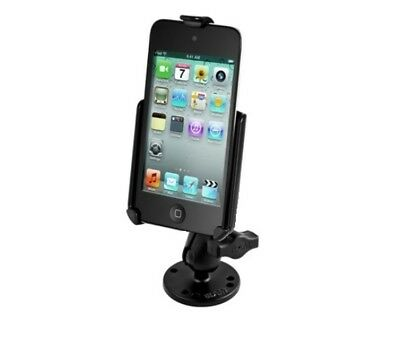 SHORT Flat Surface Center Console Car Mount for Apple iPod touch 4th Generation