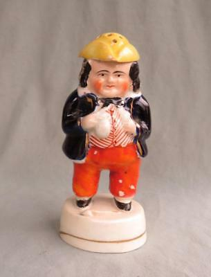Antique Staffordshire Toby Shaker