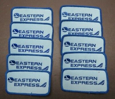 10 1980's Eastern Express / Bar Harbor Airlines Unused Patches