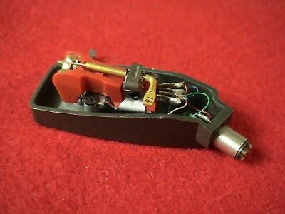Garrard AT-6,AT-60 Headshell With Cartridge Sonotone 8TA -Used