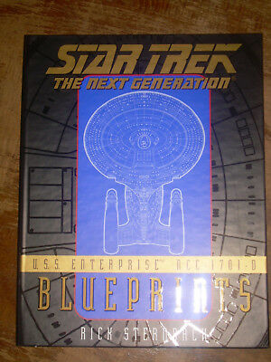 Star Trek The Next Generation USS Enterprise NCC-1701-D Blueprints