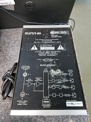 Sunn Spots Ps-310 Dimmer Pack Dj Stage Lighting
