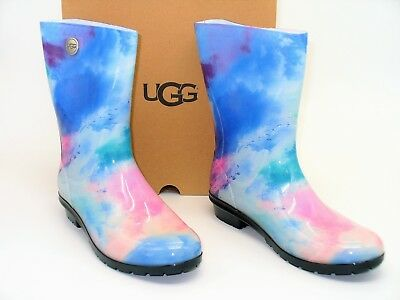 1bb49ec0a77 NIB UGG AUSTRALIA (#3) Janina Chestnut Leather Womens Knee High ...