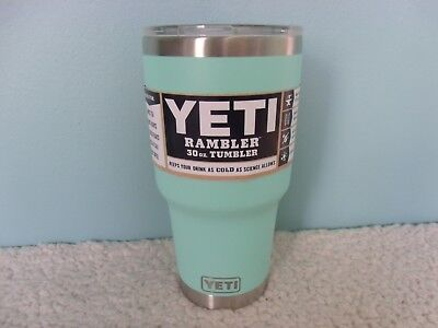 BRAND NEW YETI RAMBLER 30oz SEAFOAM COLOR TUMBLER FREE SHIPPING