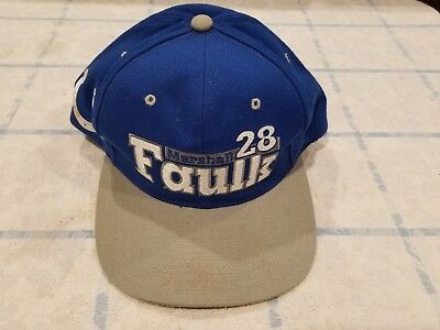 Vintage Indianapolis Colts AJD Cap Hat Deadstock 90 s Snapback Throwback 23de7c45a349