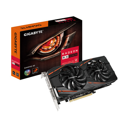 Gigabyte AMD Radeon RX 580 4GB GDDR5 PCI Express 3.0 x16 Video Card BRAND NEW