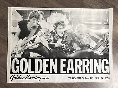 GOLDEN EARRING promotional fanclub poster