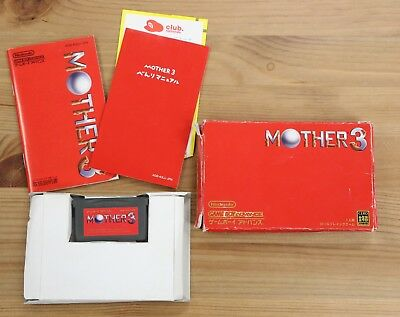 MOTHER 3 Earthbound Japan Game Boy Advance Complete Box Not Mint