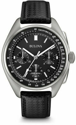 Bulova Special Ed Moon Apollo Lunar Pilot Mens Watch. 96B251. 3 year Warranty