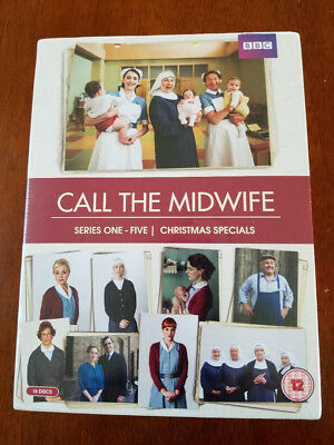 Call The Midwife Season 1-5 W/Christmas Specials Box Set DVD [REGION 2&4] NEW!!!
