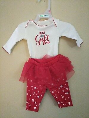 Newborn Christmas Outfit Girl.Carter S Just One You Infant Girls Newborn Christmas Outfit Best Gift Ever