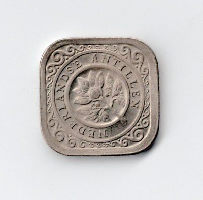 Netherlands Antilles Uncirculated 1963 5 Cents-Lot Y
