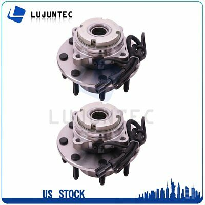 Set of Right or Left New Wheel Hub Bearing Front Fits F250 F350 Super Duty 4WD