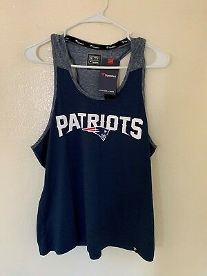 New England Patriots NFL Pro Line by Fanatics Branded Women's Tank Top
