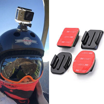 Curved+Flat Surface 3M VHB Adhesive Sticky Mount for GoPro Hero 4 3 2 1 Set cby