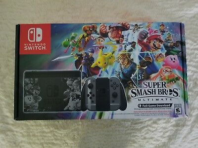 Nintendo Switch Super Smash Bros. Ultimate Limited Edition Console