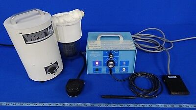 Ellman FFPF Surgitron Electrosurgical Unit With Footpedal Ground Plate And Handp