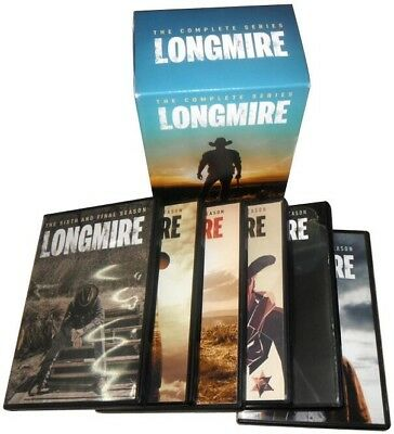 Longmire: The Complete Series, Seasons 1-6 (15 Disc DVD Box Set) 1 2 3 4 5 6