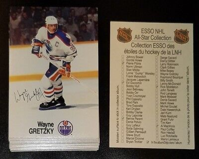 1988-89 ESSO NHL All-Star Collection Comp Set of 48