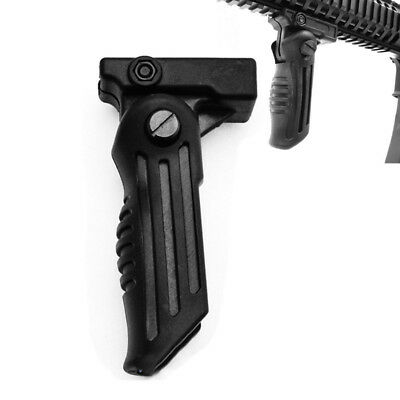 Hunting Folding Hand Vertical Foregrip Fore Grip Fit 20mm Picatinny Weaver Rail