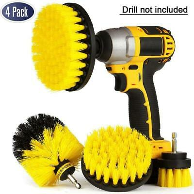 Pack Drill Brush Attachment Kit - Drill Brush Power Scrubber for Cleaning Bathr