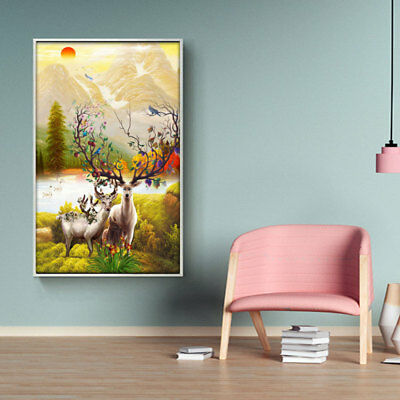 Large Canvas Huge Modern Home Wall Decor Art Oil Painting Picture Print Unf sfd