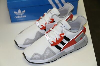 sale retailer 3c7d9 16c18 adidas EQT Cushion ADV White Black Hi-Res Red EUR 42 23 US