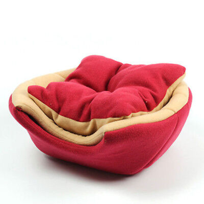 Pet Cat Dog Nest Bed Puppy Soft Warm Cave House Sleeping Bag Mat Pad Foldable