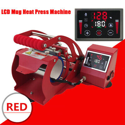 LCD Display Heat Press Transfer Machine 11OZ Mug Bottle Cup Sublimation Stamping