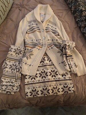 Gymboree Snowflake Sweater and extras!!