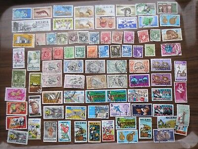85  NIGERIA  STAMPS all eras (lot B)