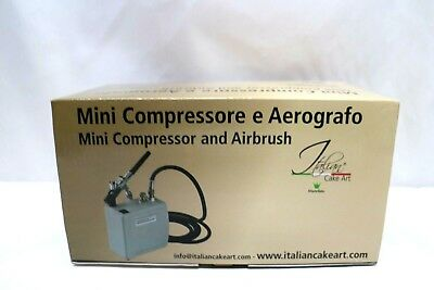 Martellato  Mini Compressor  and Airbrush  Cake Paint Kit,