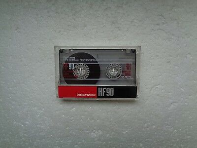 Vintage Audio Cassette SONY HF 90 From 1990 - Fantastic Condition !!