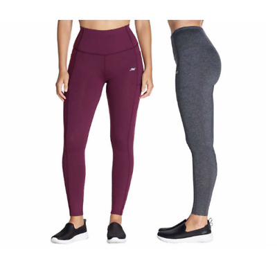 7c947fe36770ba NEW SKECHERS WOMEN'S Go Walk High Waist Yoga Workout Leggings ...