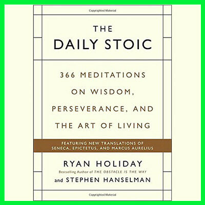 The Daily Stoic: 366 Meditations on Wisdom (E-book) {PDF}⚡Fast Delivery(10s)⚡