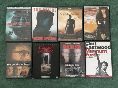 LOT OF 20 Suspense/Action/Mystery/Thriller Assorted Mixed