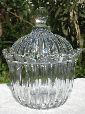Anchor Hocking Vintage Glass Covered Candy Dish- Beautiful Condition!