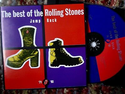 Jump Back - Best of The Rolling Stones 71-93 : 18 trk CD (1993)