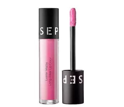 NEW SEPHORA COLLECTION Sheen Matte Long-Wear in Lilac Luster Lip Gloss Stain